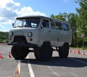 УАЗ 452 Механика. Тракторная категория 'A-4'